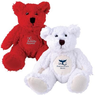 Logo Line Zoe (Red) and Snowy (White) Plush Teddy Bear | LN10943