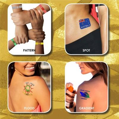 Prism Foil Temporary Tattoos®