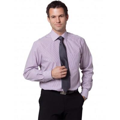 Men's Balance Stripe Long Sleeve Shirt