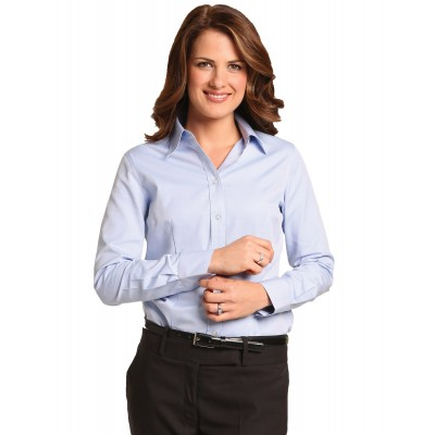 Women's Pinpoint Oxford Long Sleeve Shirt