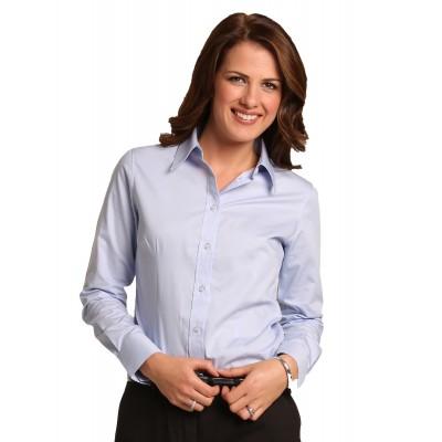 Women's Cvc Oxford Long Sleeve Shirt