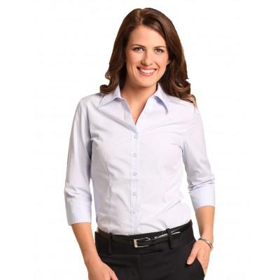 Women's Mini Check 3/4 Shirt