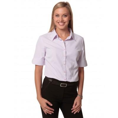 Women's Mini Check Short Sleeve Shirt
