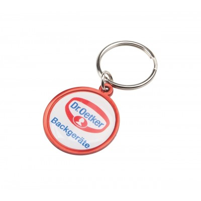 Rainbow Keyring (30mm Round) - Indent