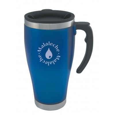 Detroit Travel Mug, Blue