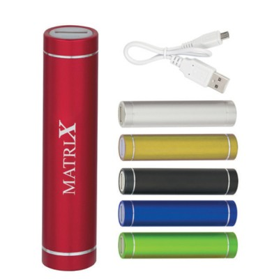 High Caliber Cylinder Power Bank