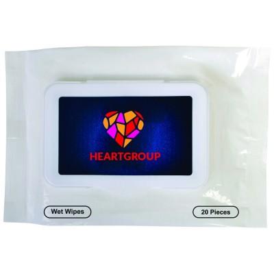 Promo Brands Antibacterial Wipes in Packet   NP139