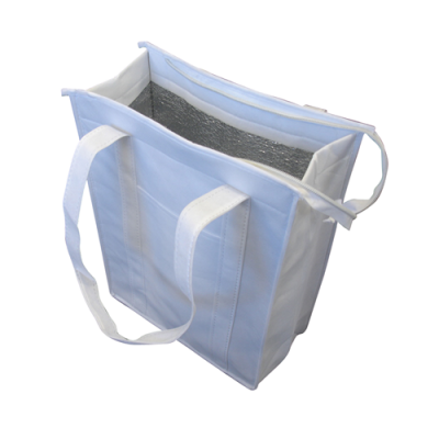 Dex Group Collection Non Woven Cooler Bag with Top Zip Closure