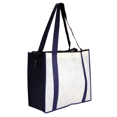 Dex Group Collection Non Woven Large Zipped Shopping Bag
