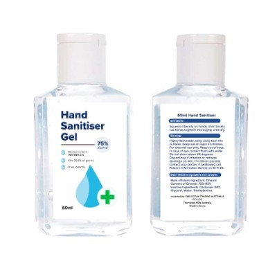 Promo Collection 60ml Hand Sanitiser Gel | PCA06