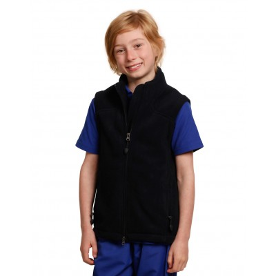 Diamond Fleece Vest Kids