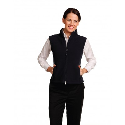 Diamond Fleece Vest Ladies