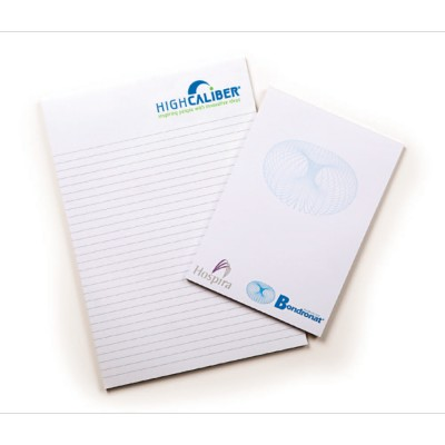 High Caliber A4 Note Pad (25 leaves per pad)