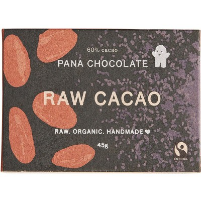 Pana Chocolate Raw Cacao 45G Bar
