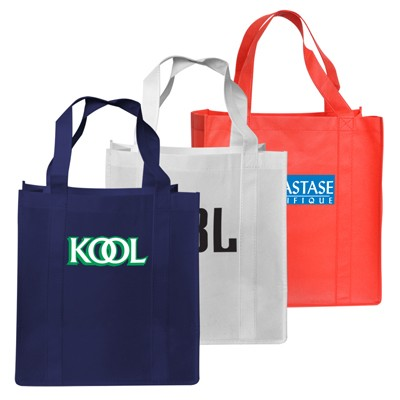 High Caliber Large Non-Woven Shopping Bag with Gusset
