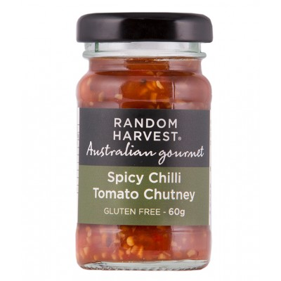 Random Harvest Spicy Chilli Tomato Chutney 60gm