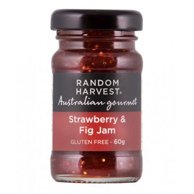 Random Harvest Strawberry & Fig Jam 60g