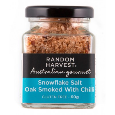 Random Harvest Oak Smoked Snow Flake Salt