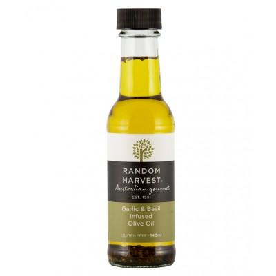 Random Harvest Garlic Basil Olive Oil