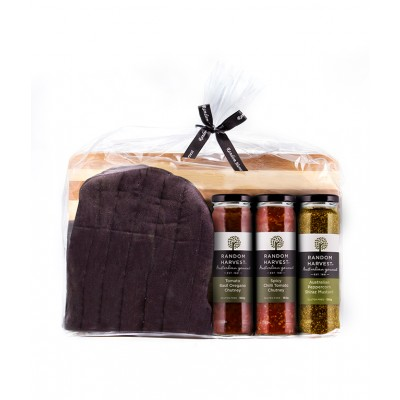 Random Harvest Large Bag Pack With Chopping Board BBQ