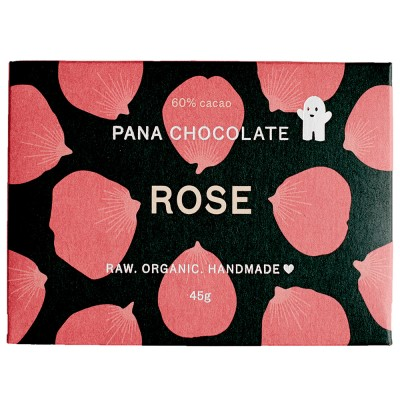 Pana Chocolate Rose 45G Bar