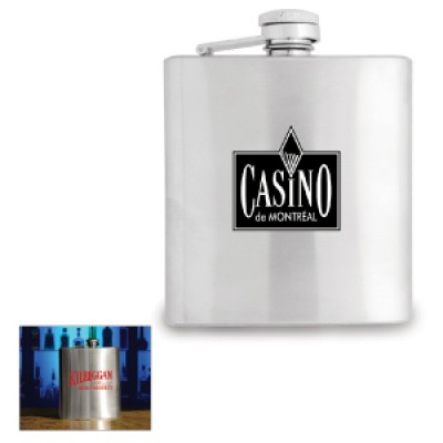 High Caliber Stainless Steel Flask 180ml.