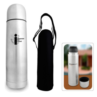 High Caliber Stainless Steel Bullet Thermal Flask