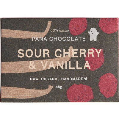 Pana Chocolate Sour Cherry & Vanilla 45G Bar