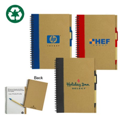 High Caliber Recycled Paper Notebook