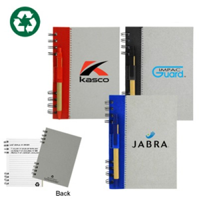 High Caliber Recycled Journal Book