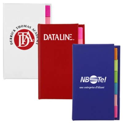 High Caliber The Adhesive Note Marker Strip Book