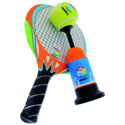 Summit Sport Tennis Racquet, Launcher & Ball
