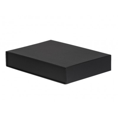 The GIFT'D  A4 Document Box Black Pack of 10