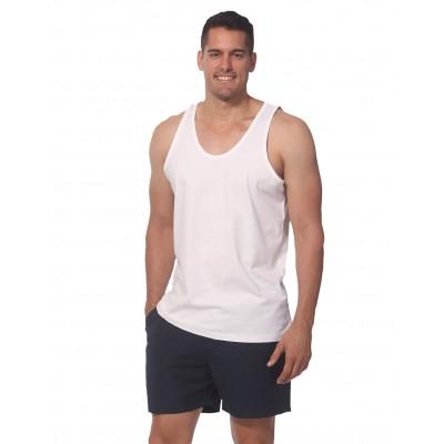 Trainer's Cotton Singlet Men's