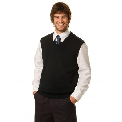 Men's V-Neck Knit vest
