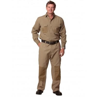 Winning Spirit Durable Long Sleeve Work Shirt