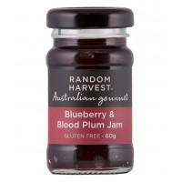 Random Harvest Blueberry & Blood Plum Jam