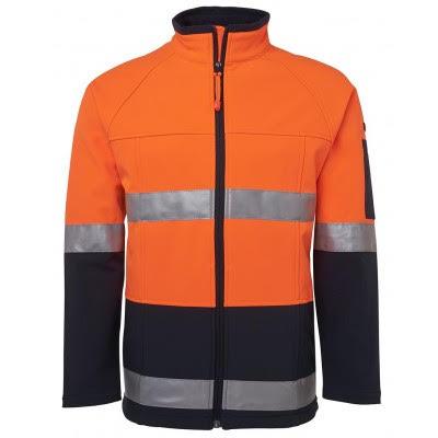 Hi Vis (D+N) Softshell Jacket